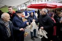 ALI KıLıÇ - Maltepe Belediyesi'nden Vatandaşlara Doğa Dostu Bez Çanta