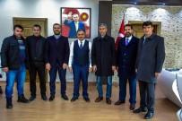 SEÇİM SÜRECİ - MHP İlçe Yönetiminden Başkan Cabbar'a 'Hayırlı Olsun' Ziyareti