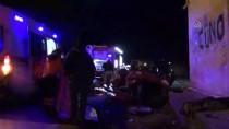 Otomobil Trafo Binasına Çarptı Açıklaması 1 Ölü, 1 Yaralı