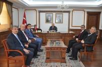 Vali Akın'a CHP Ve İYİ Parti Teşkilatları Ortak Ziyaret Yaptı