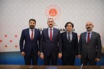 ADALET BAKANI - Yeşilboğaz, Adalet Bakanına Yargıdaki Sorunları Aktardı