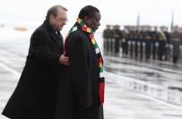ZIMBABVE - Zimbabve Devlet Başkanı Mnangagwa Rusya'da