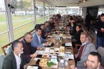 YAT LİMANI - AK Parti Yönetimi Gazetecilerle Buluştu