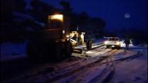 ÖZLEM ÇERÇIOĞLU - Aydın'da Kar Yağışı