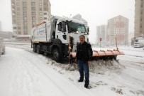 GRİP - Başkan Palancıoğlu, Karla Mücadelede