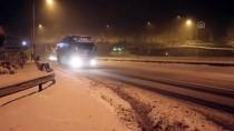 KAR YAĞıŞı - Bolu'da Yoğun Kar Yağışı
