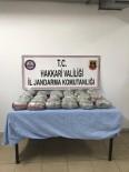 Hakkari'de 34 Kilo Toz Esrar Ele Geçirildi