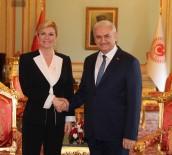 HıRVATISTAN - Hırvatistan Cumhurbaşkanı Kitaroviç TBMM'yi Ziyaret Etti