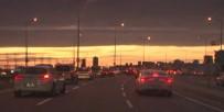 İstanbul'da Müthiş Günbatımı