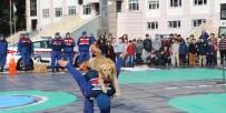 GÜVENLİ OKUL - Jandarmanın Eğitimli Köpeklerinden Nefes Kesen Gösteri