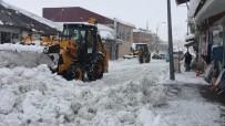 Karlıova'da 2 Bin Kamyon Kar Taşındı, Hala Taşınıyor