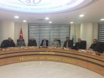 Kaymakam Hasan Yaman TSO'yu Ziyaret Etti