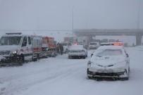 MIMARSINAN - Kayseri'de Ulaşıma Kar Engeli