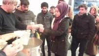 Kırşehir Belediyesi Şehirler Arası Otobüs Terminalinde Çorba İkramı Yaptı