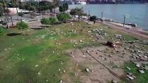 HÜKÜMET - Mersin'de Fırtınanın Etkili Olduğu Bölgelerde İnceleme