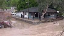 Mersin'deki Yağış Ve Fırtına İlçeleri De Etkiledi