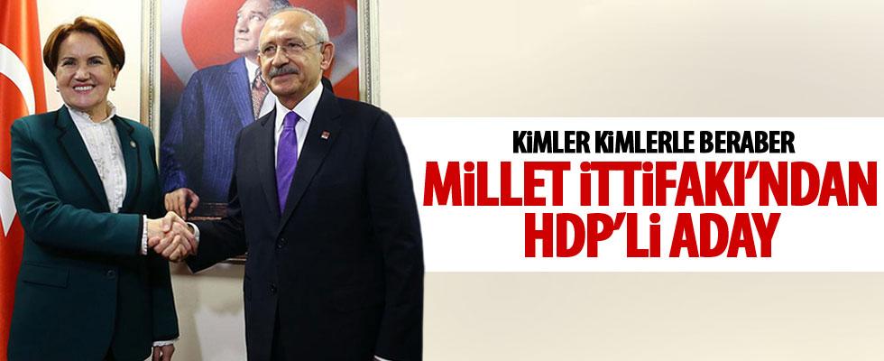 Millet İttifakı'ndan HDP'li aday