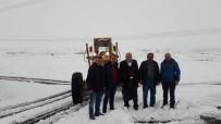GENEL SEKRETER - Nevşehir İl Özel İdare Genel Sekreterliği Ekipleri Karla Mücadele Ediyor