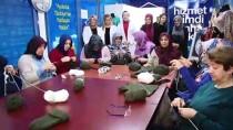 HALK EĞİTİM - Sakaryalı Kadınlardan Mehmetçiğe Bere