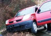 DİREKSİYON - Samsun'da Trafik Kazası Açıklaması 1 Yaralı