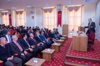 Şeyh Edebali Üniversitesi'nde 'Meslek Ve Ahlak' Konulu Konferans Verildi