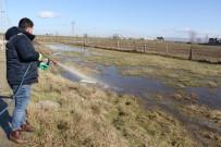 KAZIM KARABEKİR - Su Basan Mahalleler Dezenfekte Ediliyor
