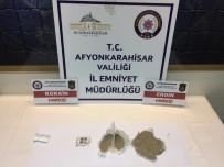 Şüphe Üzerine Durdurulan Araçtan Uyuşturucu Madde Çıktı