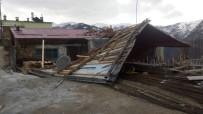 METEOROLOJI - Trabzon'da Fırtına 200 Konut Ve 4 Kamu Binasına Zarar Verdi