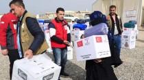 İNSANİ YARDIM - Türk Kızılayı'ndan Musullu Sığınmacılara Kışlık Yardım