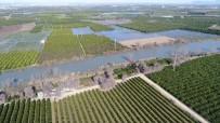 Adana'da Binlerce Dönüm Tarım Arazisi Sular Altında
