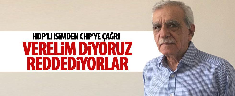 Ahmet Türk'ten CHP'ye çağrı