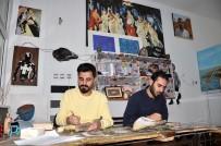 GAZIANTEP ÜNIVERSITESI - Ahşap Parçalarını Sanata Dönüştürüyorlar