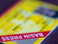 RESMI GAZETE - Basın kartı yenileme başvuruları başladı