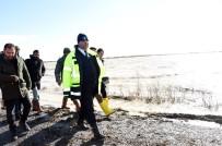 Başkan Can, Sular Altında Kalan Ovadaki Mahalleleri Gezdi