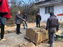 SARMAŞıK - Bayırköy'de Yol Çalışmaları Devam Ediyor