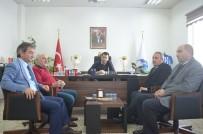 GENEL SEKRETER - BB Erzurumspor Yönetimine Hayırlı Olsun Ziyareti
