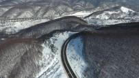 Bolu Dağı'ndan Eşsiz Kar Manzarası