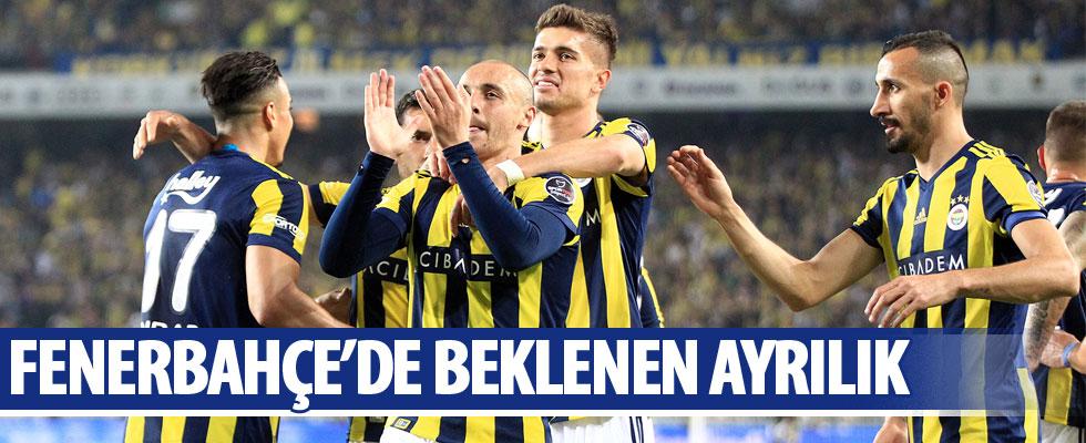 Fenerbahçeli yıldız ayrıldı