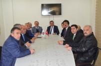 SİVİL TOPLUM - CHP'li Soner Gökçe'den Muhtarlar Derneğine Ziyaret