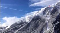 DİNAMİT - Davos'ta Dinamitle Kontrollü Çığ Düşmesi