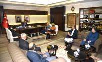 TAŞPıNAR - Eğitim Bir-Sen'den Vali Köşger'e Ziyaret