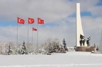 ESKİŞEHİR - Eskişehir'de Seyirlik Kar Manzaraları
