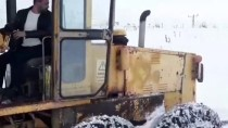 Gümüşhane'de Kar Nedeniyle Hastaya Güçlükle Ulaşıldı