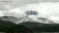METEOROLOJI - Japon Adasındaki Volkan Yeniden Harekete Geçti