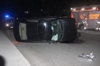 SEYRANTEPE - Kağıthane'de Otomobil Takla Attı