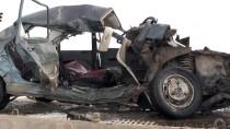 Kars'ta Trafik Kazası Açıklaması 1 Ölü, 3 Yaralı