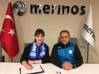 TÜRKİYE - Merinosspor'un Son Transferi Pelin Beydüz İlk Antrenmanına Çıktı