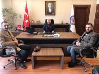 ÜLKÜ OCAKLARı - MHP Develi Teşkilatı Kaymakam Duru'yu Ziyaret Etti