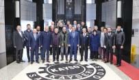 MOBİLYA - 'Mobilyada Kendimizi Başka İllerle Kıyaslamak Kayseri'ye Haksızlık Olur'