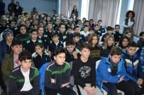 HENTBOL - Nilüferli Hentbolcular Öğrencilerle Buluştu